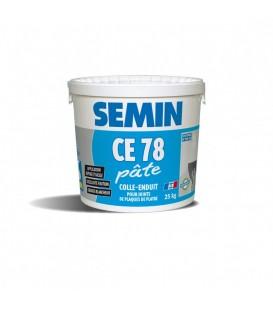 CE 78 joint Pate Prêt a l'emploi Seau 25kgs SEMIN