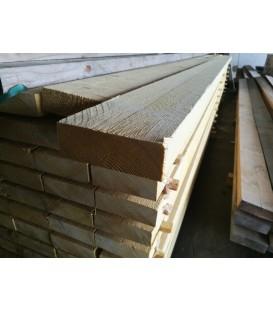 Solive en sapin traité charpente 50x150 mm longueur 4ml