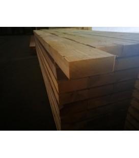 Solive en sapin traité charpente 63x175 mm longueur 5,50ml
