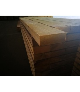 Solive en sapin traité charpente 75x175 mm longueur 6ml