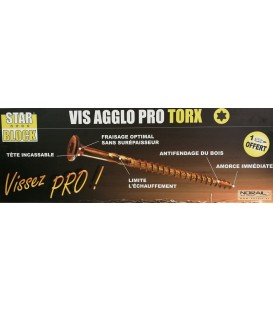 VIS Bois STARBLOCK Embout Torx  6X80 BC200