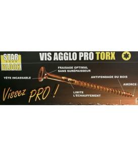 VIS Bois STARBLOCK Embout Torx  8X180 SACX5
