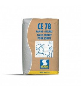 CE 78 joint Poudre 25kgs SEMIN 4heures