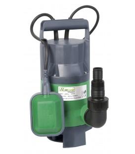 Pompe vide-cave eaux chargées 400w + int