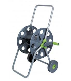Dévidoir sur roues vide, capacité 40m en tuyau diam15