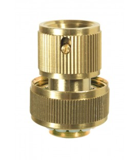 Raccord rapide stop laiton 19mm