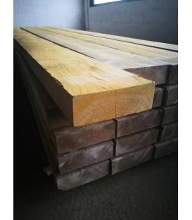 Solive en sapin traité charpente 75x225 mm longueur 4,50ml