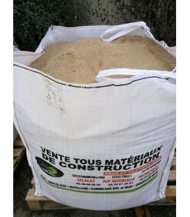 Big Bag sable rivière  0 à 2mm pour enduits