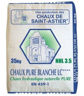 Chaux blanche St Astier NHL3,5 35Kgs