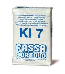 SOUSCOUCHE ENDUIT FASSA KI7 FIBRE HYDROFUGE
