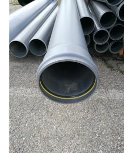 PVC Diam 125mm CR8 Ep8mm EN 3ML